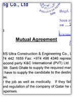 Sample 2. Mutual Agreement  Mutual Agreement Sample